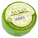 Island Cheese Company Waxed Truckle of Cheddar with Crushed Herbs 200g