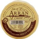 Island Cheese Company Waxed Truckle of Cheddar Cheese with Arran Malt Whisky