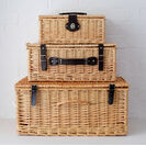 Natural Wicker Hamper