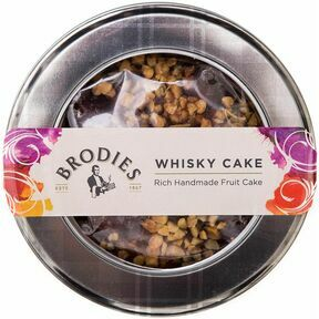 Brodies of Edinburgh Whisky Cake (315g)