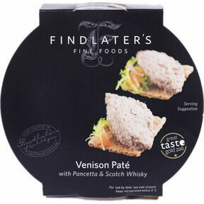 Findlater's Fine Foods Venison with Pancetta & Whisky Pate (120g)