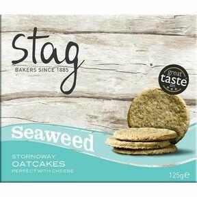 Stag Stornoway Seaweed Oatcakes (125g)