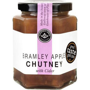 Galloway Lodge Bramley Apple Chutney with Cider (300g)
