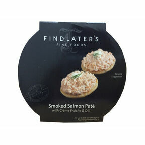 Findlater's Fine Foods Smoked Salmon Pate with Creme Fraiche & Dill (115g)