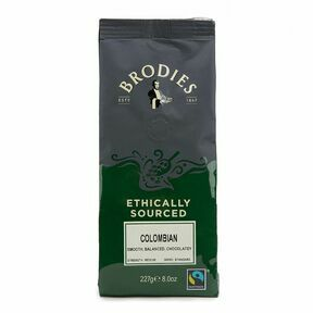 Brodies of Edinburgh Fairtrade Colombian Coffee (227g)