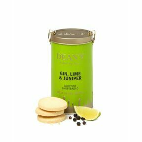 Deans Gin, Lime and Juniper Shortbread Rounds