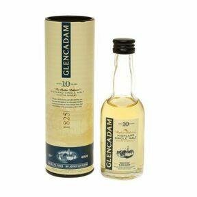 Glencadam Aged 10 Years Highland Whisky Miniature (5cl)