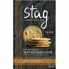 Stag Original Water Biscuits (150g)