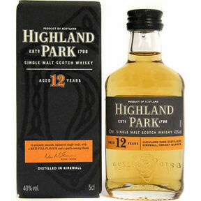 Highland Park 12 Year Old Whisky Miniature (5cl)