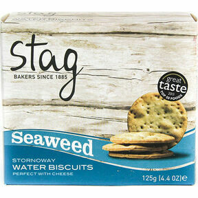 Stag Stornoway Seaweed Water Biscuits (125g)