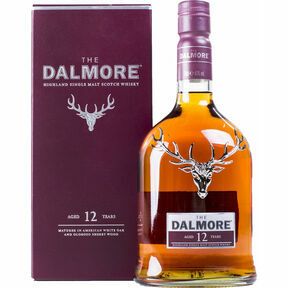 The Dalmore Distillery The Dalmore 12 Year Old Single Malt Whisky (70cl)