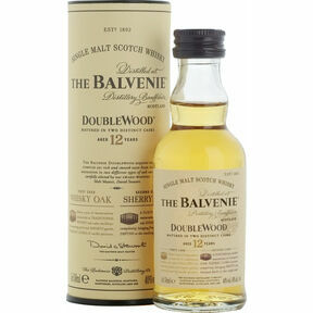 The Balvenie DoubleWood 12 Year Old Whisky Miniature (5cl)