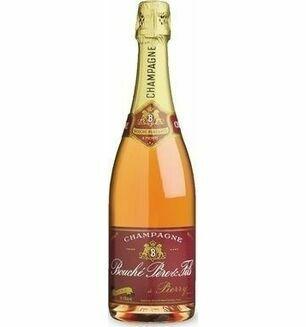 Bouche Pere et Fils Rosé Champagne 75cl