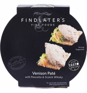 Findlater Fine Foods Venison with Pancetta & Whisky Pate 120g