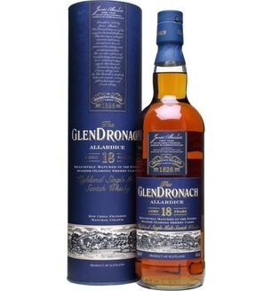 GlenDronach Allardice 18 Year Old Whisky