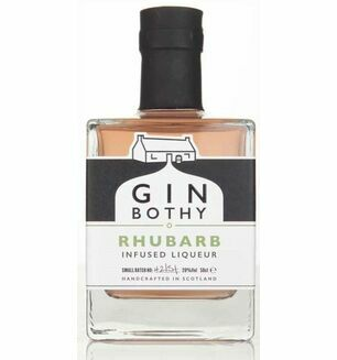 Gin Bothy Rhubarb Liqueur Gin 5cl
