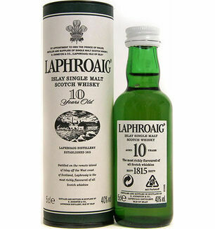 Laphroaig Distillery Laphroaig Whisky Miniature 5cl