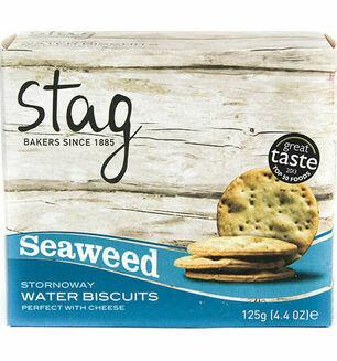 Stag Stornoway Seaweed Water Biscuits 125g