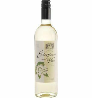 Highland Wineries Elderflower Wine 75cl