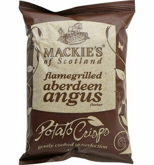 Mackie's of Scotland Flamegrilled Aberdeen Angus Crisps 40g