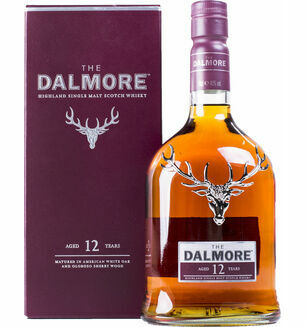 The Dalmore Distillery The Dalmore 12 Year Old Single Malt Whisky 70cl