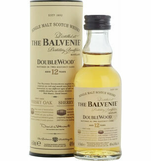 The Balvenie DoubleWood 12 Year Old Whisky miniature 5cl
