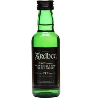 Ardbeg Single Malt 10 Year Old Whisky Miniature 5cl