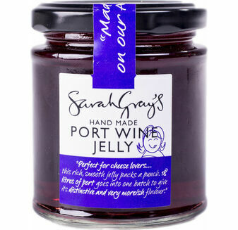Sarah Gray's Port Wine Jelly 227g