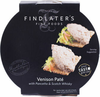 Findlater\'s Fine Foods Venison with Pancetta & Whisky Pate (120g)