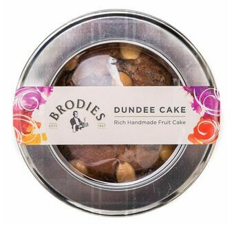 Brodies of Edinburgh Dundee Cake (315g)