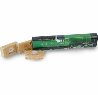 Flying Scotsman Train Tin With Whisky Fudge and Tablet