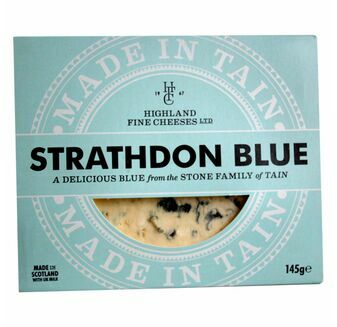 Highland Fine Cheese Strathdon Blue (145g)