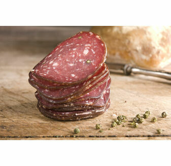 Great Glen Charcuterie Green Pepper Venison Salami (90g)