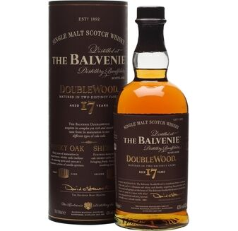 The Balvenie DoubleWood 17 Year Old Whisky (70cl)