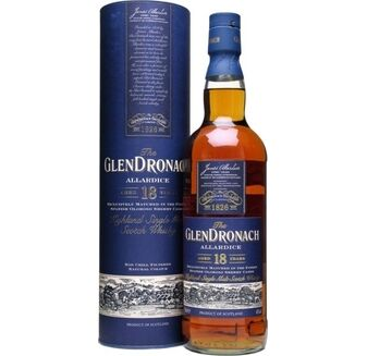 GlenDronach Allardice 18 Year Old Whisky 70cl
