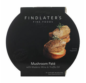 Findlater\'s Fine Foods Mushroom Pate with Madeira Wine & Truffle Oil (120g)
