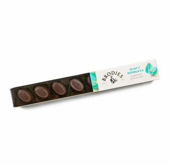 Brodies of Edinburgh Minty Moments Chocolates (90g)