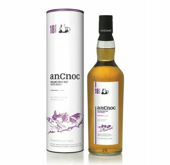 AnCnoc 18 Year Old Highland Single Malt Whisky 70cl