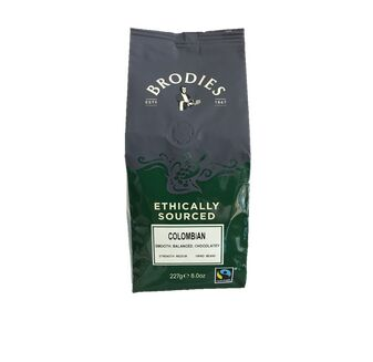 Brodies of Edinburgh Columbian Coffee Beans