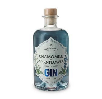 Old Curiosity Colour Changing Gin Chamomile & Cornflower 50cl