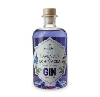 Old Curiosity Colour Changing Gin Lavender & Enchinacea 50cl