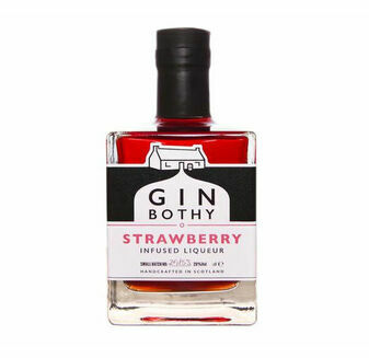 Gin Bothy Strawberry Infused Liqueur Gin Miniature 5cl