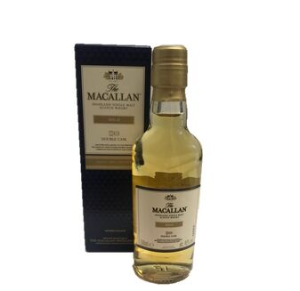 The Macallan Double Cask Gold Scotch Whisky Miniature (5cl)