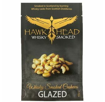 Hawkhead Whisky Smoked Glazed Cashew Nuts (65g)