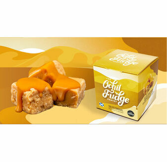Ochil Fudge Pantry Salted Caramel Fudge