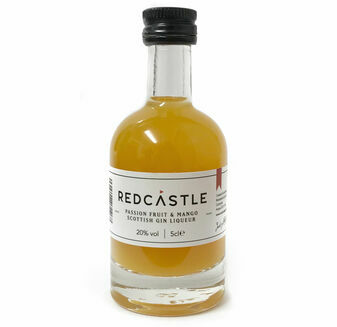 Redcastle Gin Passion Fruit & Mango Scottish Gin Liqueur Miniature (5cl)