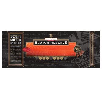 St James Smokehouse Scotch Reserve® Scottish Oak Roasted Salmon (454g)