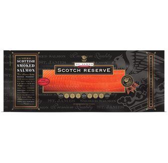 St James Smokehouse Scotch Reserve® Scottish Oak Roasted Salmon (454g)