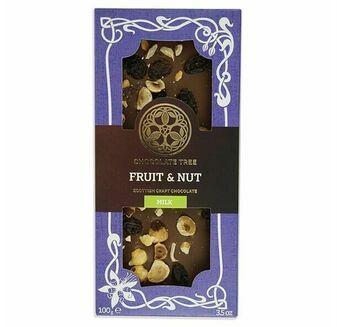 Chocolate Tree Fruit & Nut Milk Chocolate Bar (100g)