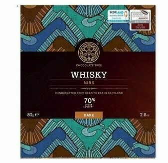 Chocolate Tree Whisky Nibs Chocolate Bar (80g)